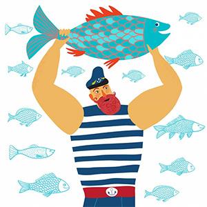 C Днём рыбака!