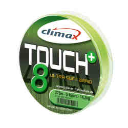 Шнур Climax Touch 8 Plus BRAID (chartreuse) 0.14